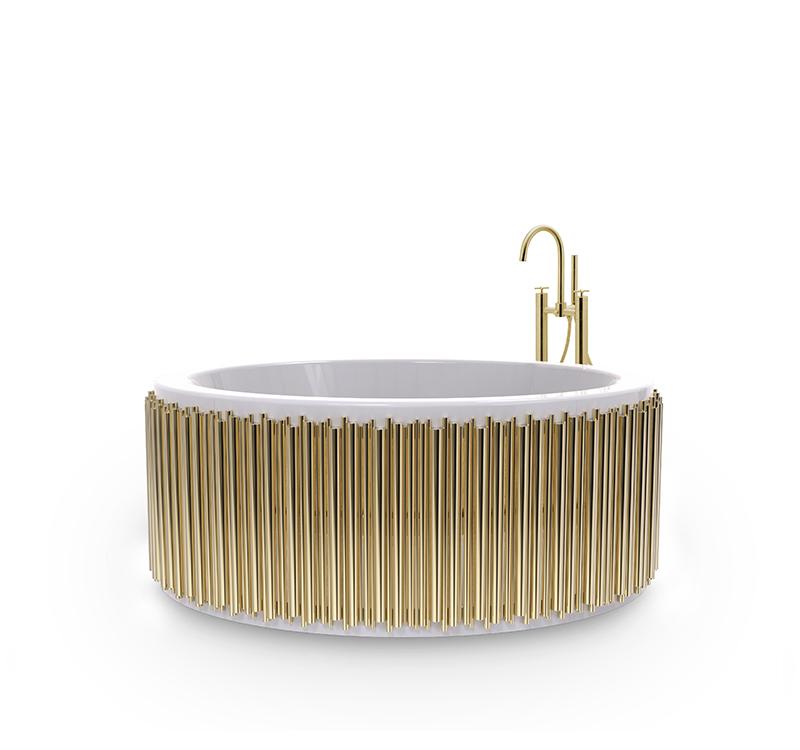 Biophilic Designs: New Trend for Bathroom Interiors Biophilic Designs Biophilic Designs: New Trend for Bathroom Interiors symphony bathtub 1