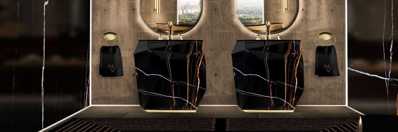 Black Marble Designs: Get A Luxury Bathroom