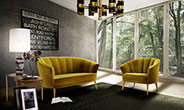 MAYA 2 Seat Sofa by BRABBU