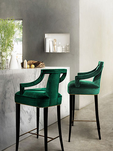 EANDA Bar Chair by BRABBU