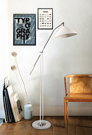 ARMSTRONG Floor Light by DelightFULL