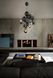 ATOMIC Suspension Lamp by DelightFULL