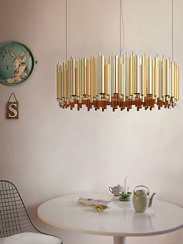 BRUBECK Suspension Lamp byDelightFULL