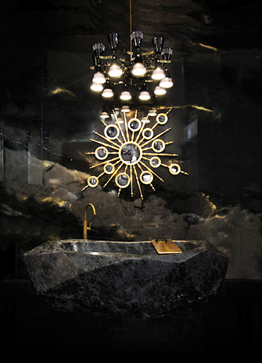 Diamond Bathtub by Maison Valentina